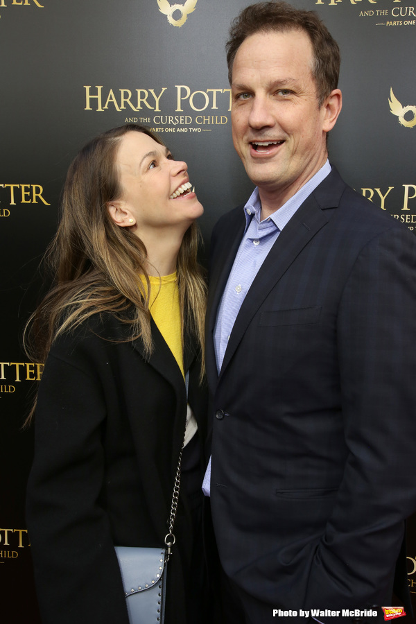 Sutton Foster and Ted Griffin