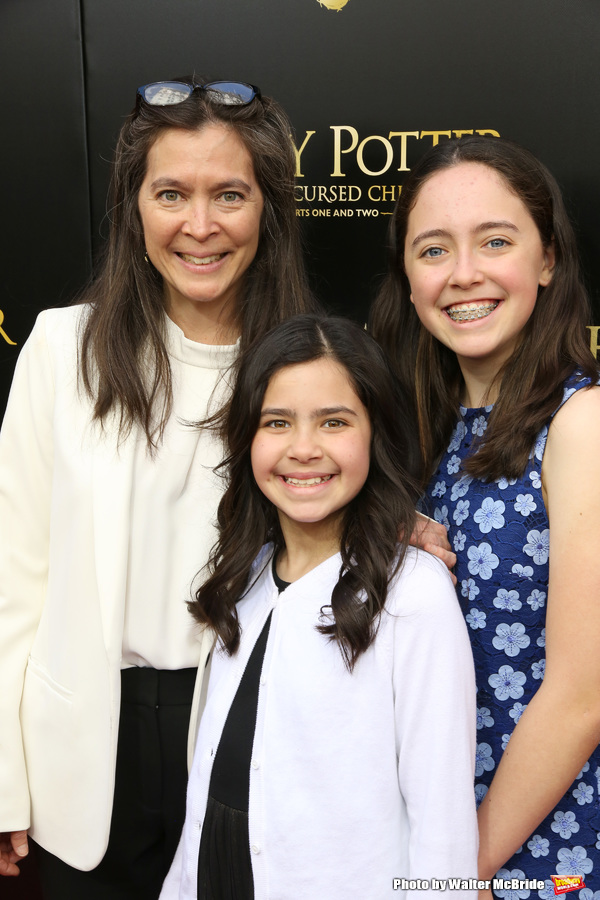 Diane Paulus and family