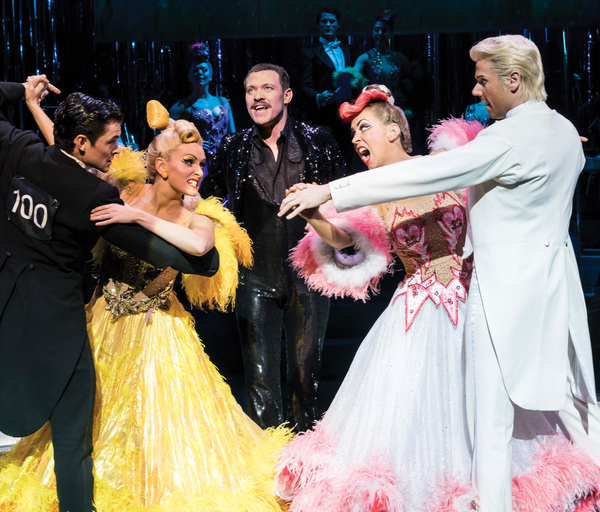 onny Labey, Lauren Stroud, Will Young, Michelle Bishop and Gary Watson