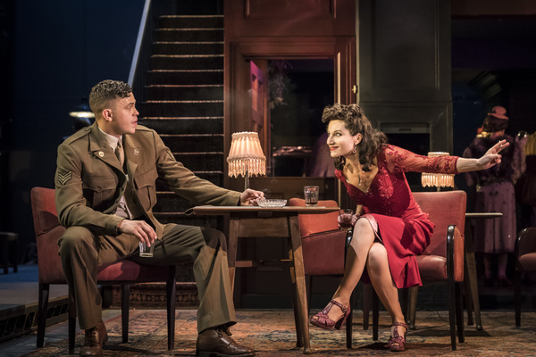 Aaron Heffernan as Butch and Kate Fleetwood as Christine Photo