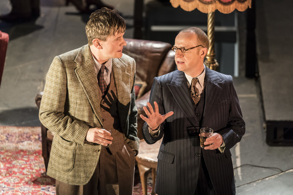 Charles Edwards as Hugh Marriner and Jonathan Slinger as Maurice Hussey