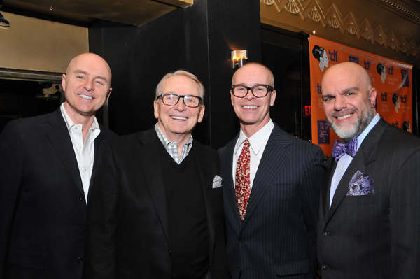 Joseph McFate, Bob Mackie, Fritz Masten and Stephen Cabral Photo