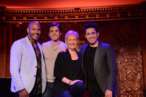Photo Coverage: Liz Callaway, John Lloyd Young & More Preview Spring Shows at Feinstein's/54 Below!