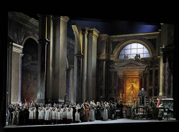 Photos: Anna Netrebko Stars In TOSCA at The Met