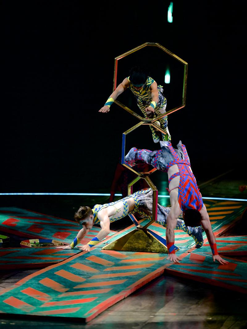 VOLTA by Cirque du Soleil at the Meadowlands is Spectacular