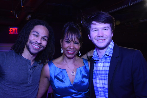 Brandon Kazew-Maddox, Gayle Samuels and James Caverly