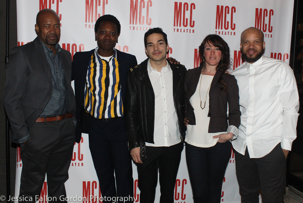 Photo Coverage: MCC's World Premiere of TRANSFERS Celebrates Opening Night!