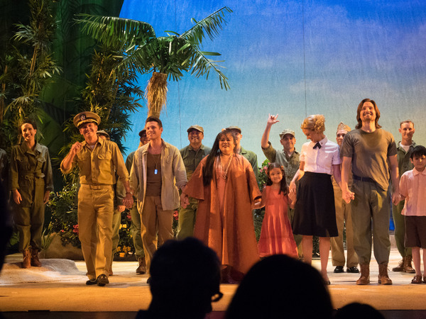 Photo Coverage: Curtain Call And Press Night Celebration Of McCoy Rigby Entertainment's SOUTH PACIFIC