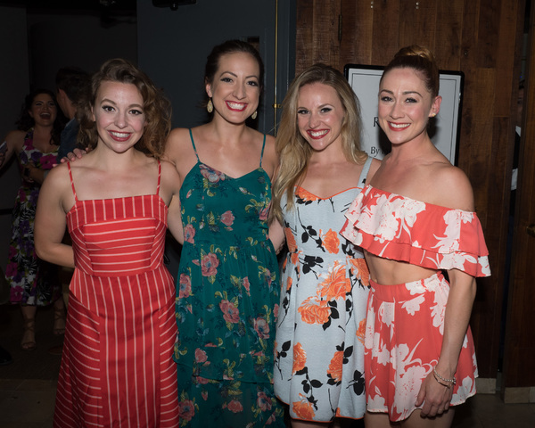 Carolyn Lupin, Katie Perry, Alissa Tucker, and Brittany Bentley Photo