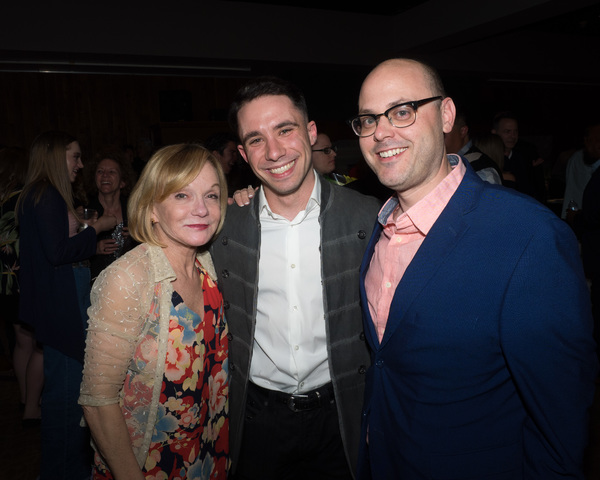 Executive Producer Cathy Rigby, Dino Nicandros, and Anthony Boyer