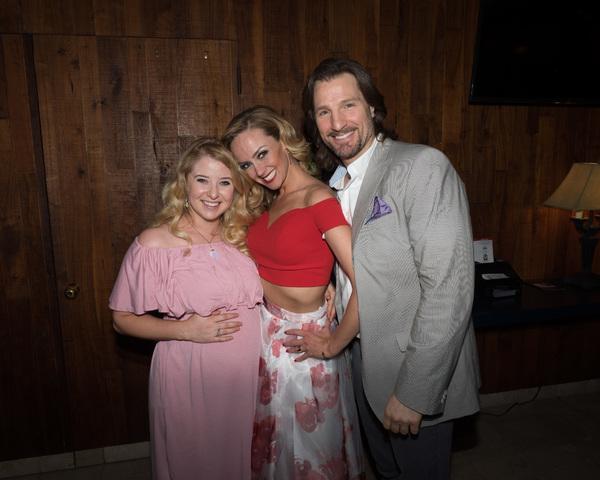 Carly Bracco, Stephanie Renee Wall, and John Cudia