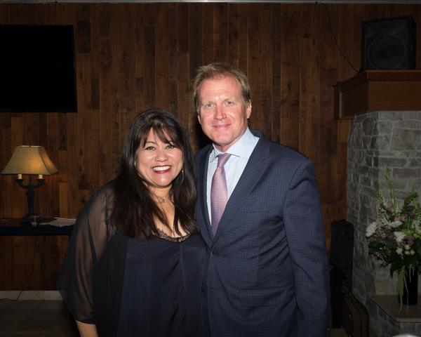 Jodi Kimura and Executive Producer Tom McCoy