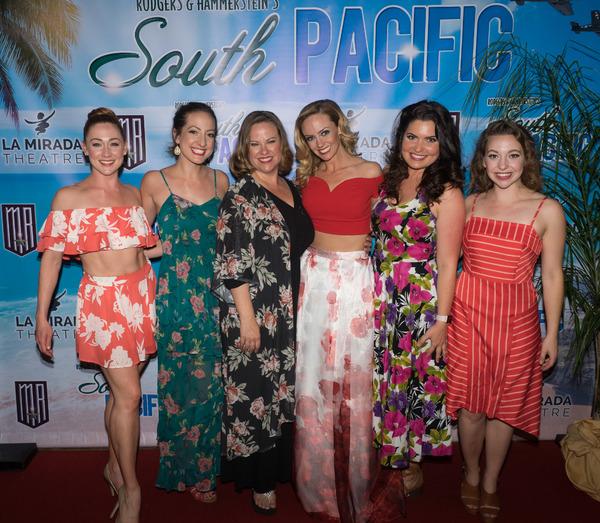 Brittany Bentley, Katie Perry, Kim Arnett, Stephanie Renee Wall, Caitlyn Calfas, and Carolyn Lupin