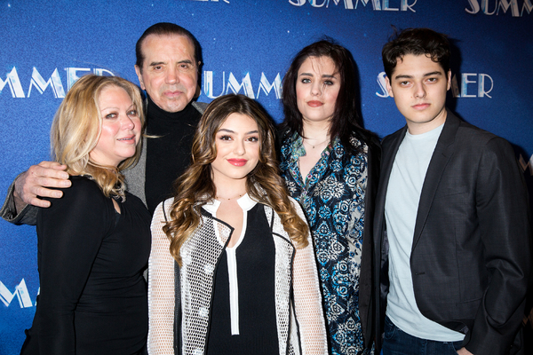 Chazz Palminteri and family