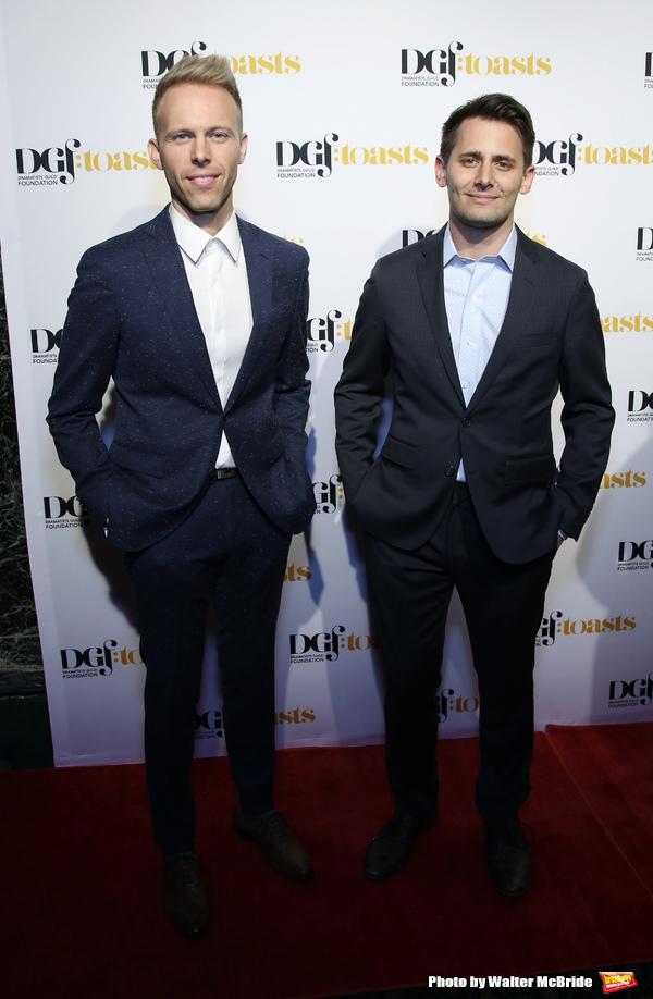 Justin Paul and Benj Pasek