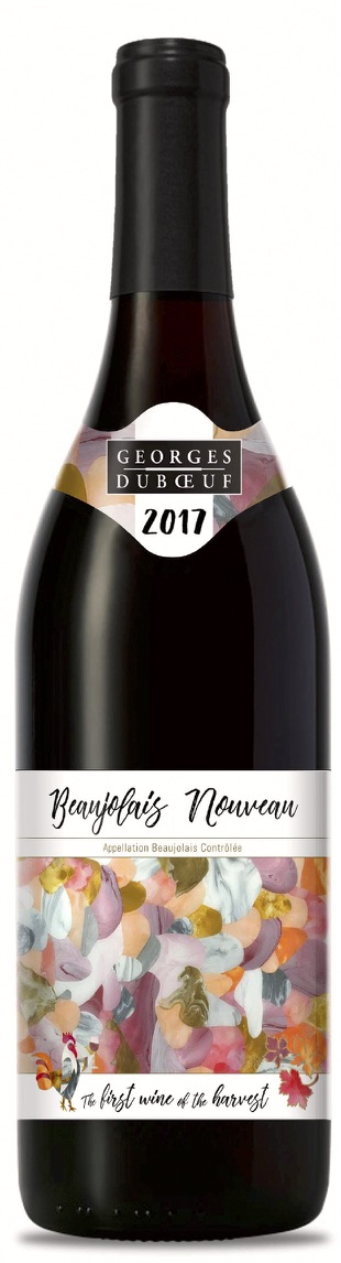 Vote for GEORGES DUBOEUF BEAUJOLAIS NOUVEAU Artwork Label