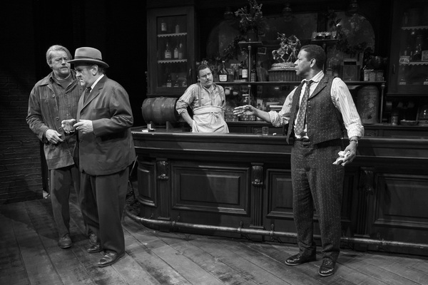 David Morse, Colm Meanery, Danny McCarthy, and Denzel Washington in THE ICEMAN COMETH