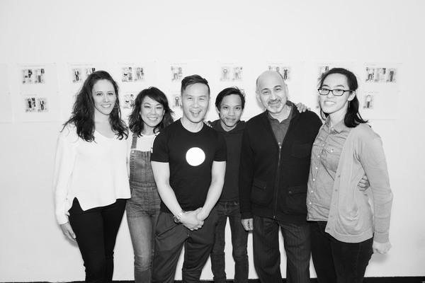 Taibi Magar (director), Ali Ahn, BD Wong, Tony Aidan Vo, Ned Eisenberg and Lauren Yee Photo