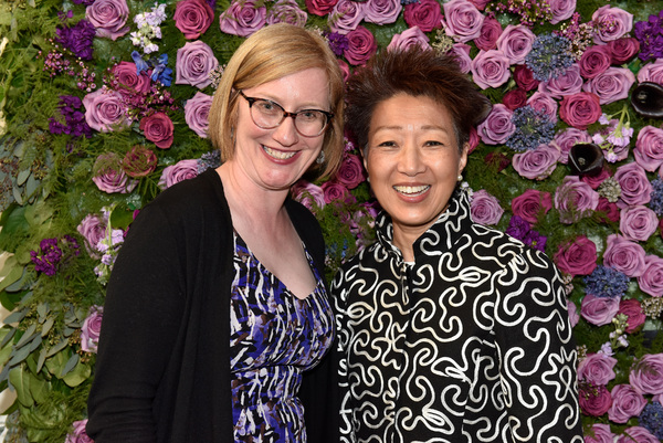 American Theatre Wing President Heather HItchens and NEA Chairwoman Jane Chu