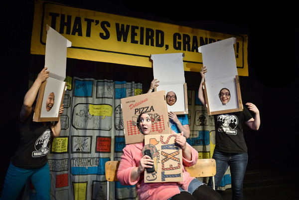 Photo Flash: Barrel of Monkeys Presents THAT'S WEIRD, GRANDMA: Stories About Food