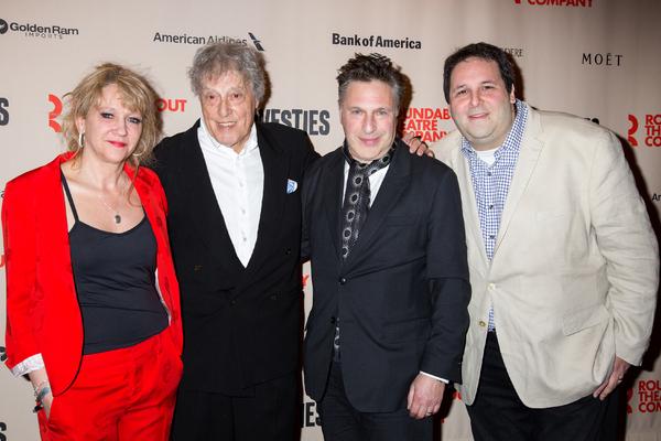 Sonia Friedman, Tom Stoppard, Patrick Marber, David Babani