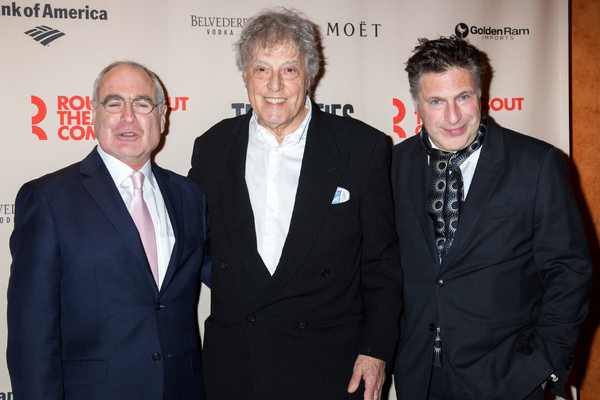 Todd Haimes, Tom Stoppard, Patrick Marber