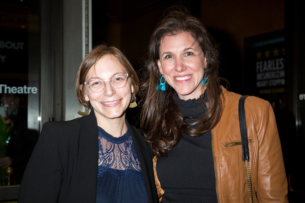 Anna Ziegler and guest