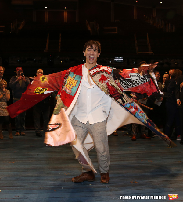 Exclusive Photo Coverage: Jess LeProtto Takes Home the Gypsy Robe for CAROUSEL!