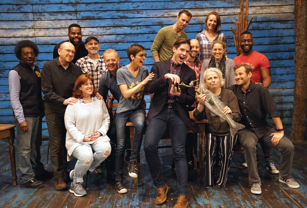 Photo Flash: COME FROM AWAY Cast Celebrates NY1 Emmy Win