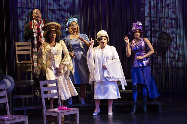 Photo Flash: Long Wharf Theatre Presents Regina King's CROWNS