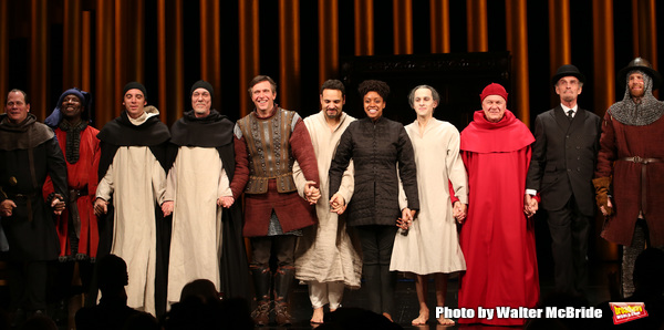 Photo Coverage: The Cast of SAINT JOAN Takes its Opening Night Bows