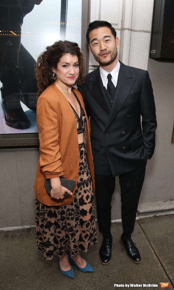 Sarah Stiles and Daniel Isaac