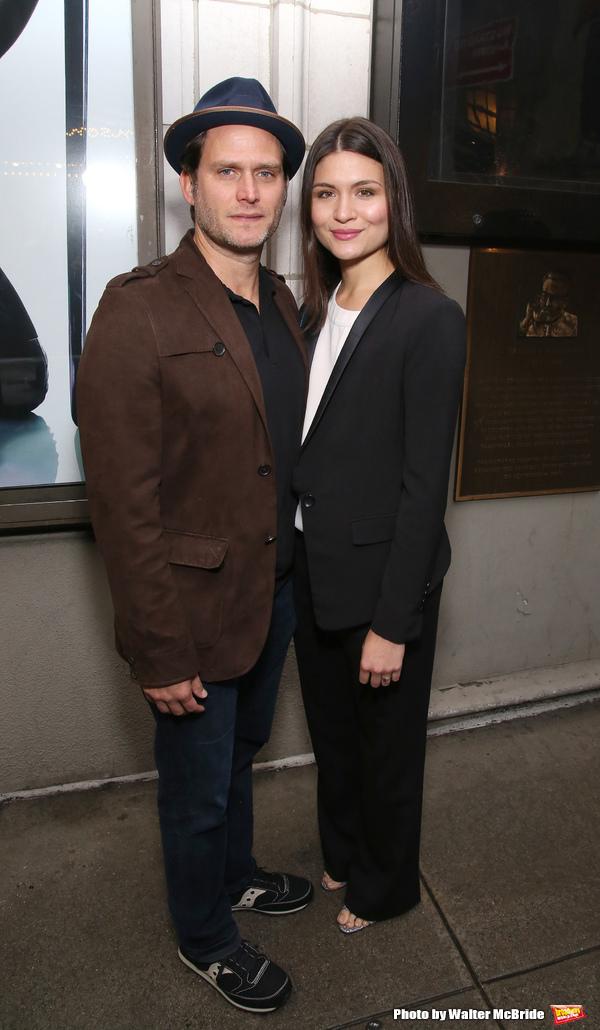 Steven Pasquale and Phillipa Soo