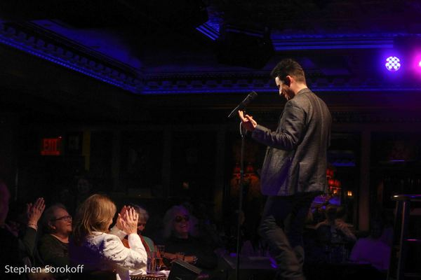 Photo Coverage: John Lloyd Young Opening Night at Feinstein's/54 Below
