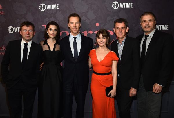 David Nichols, Allison Williams, Benedict Cumberbatch, Jennifer Jason Leigh, Michael Jackson and Gary Levine