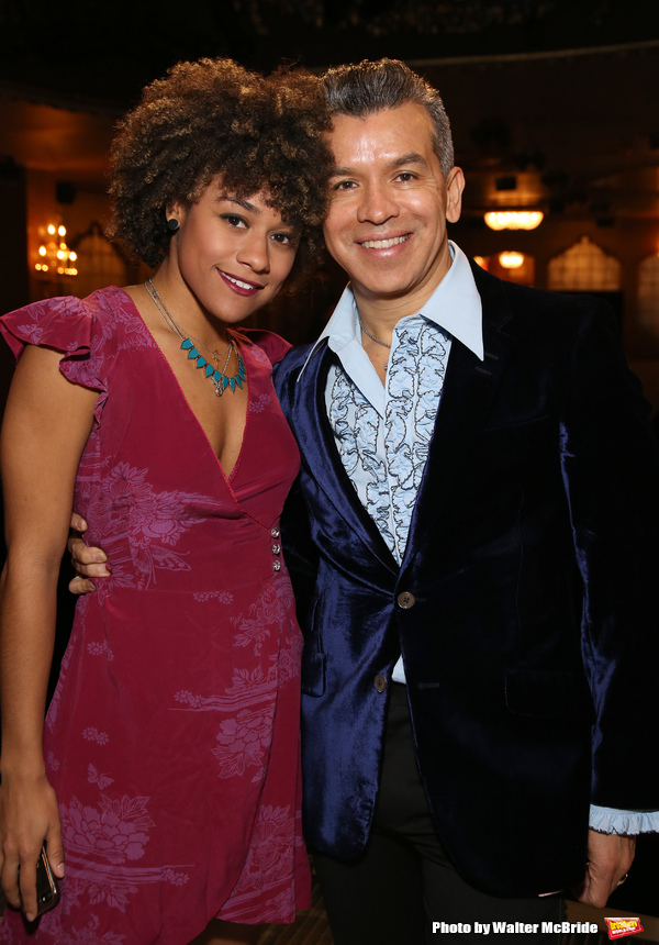 Ariana DeBose and Sergio Trujillo