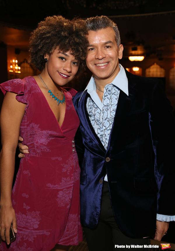 Ariana DeBose and Sergio Trujillo