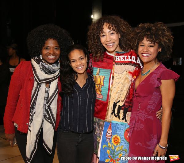Afra Hines with LaChanze, Storm Lever and Ariana DeBose