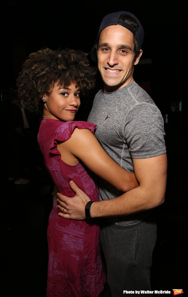 Ariana DeBose and Jared Zirilli