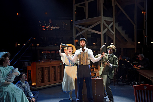 Rachael Warren as Mother, Evan Andrew Horwitz as Boy, Olivia Miller as Girl, Charlie Thurston as Tateh, and Alexander De Vasconcelos Matos as Younger Brother in Ragtime.