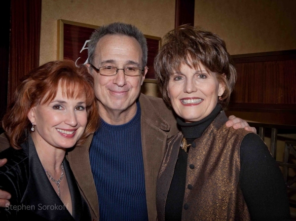 2011 Feinstein's at The Regency Raissa Katona Bennett, David Friedman, Lucie Arnaz