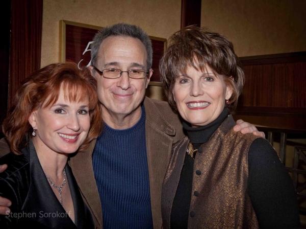 2011 Feinstein's at The Regency Raissa Katona Bennett, David Friedman, Lucie Arnaz
