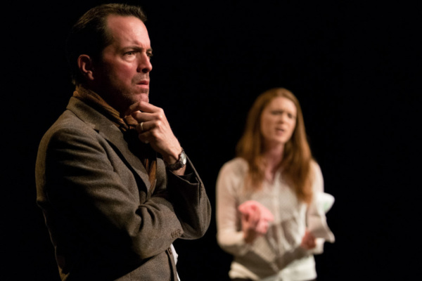 Hugh Barnett as GRAHAM and Isobel Eadie as KATE in CHOICE by Rebecca Robinson Directed by Jodi Burgess