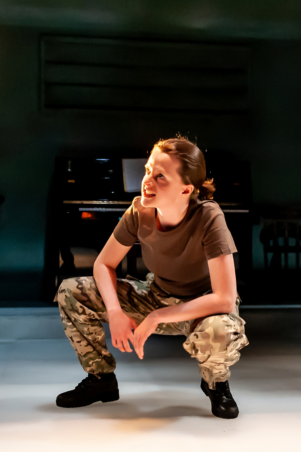 Photo Flash: First Look at NOT TALKING at Arcola Theatre