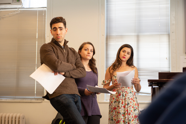 Photo Flash: In Rehearsal with MOLASSES IN JANUARY