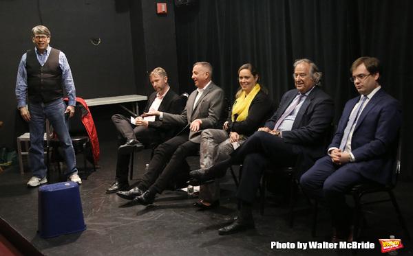 Bob Ost, David Carpenter, Michael Alden, Themis Gomes, Stewart F. Lane and Hal Berman Photo