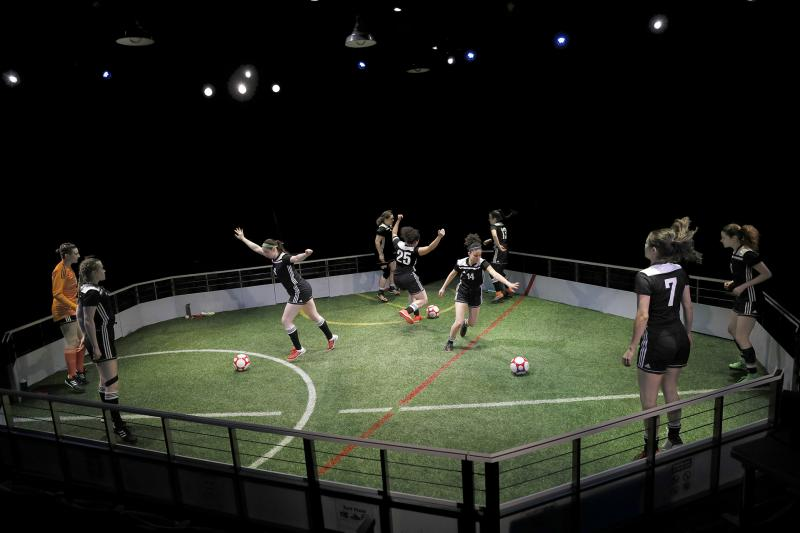 BWW Review: A Powerful GOAL! From ACT's THE WOLVES