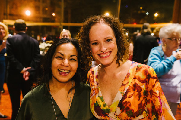 Deputy Artistic Director Seema Sueko and Lynne Shankel (Music Supervisor/Orchestrations)