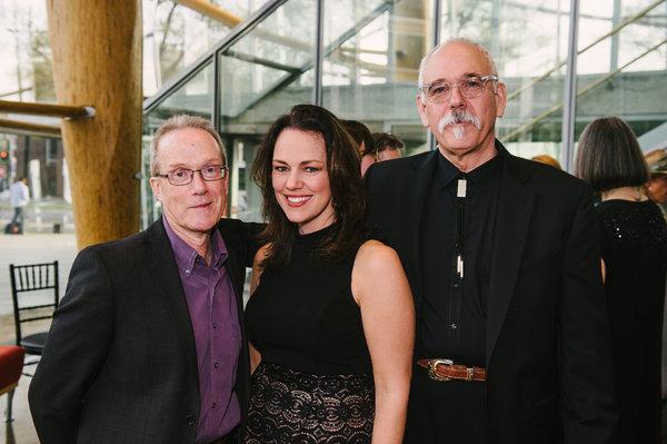 John Strand (Book), Georgia Stitt (Composer/Lyricist) and Bob Banghart (Composer)  Photo