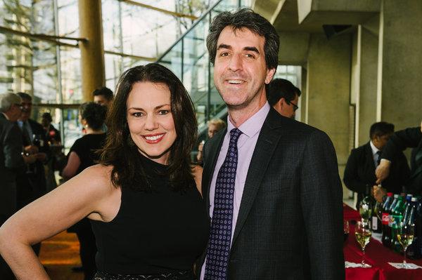 Georgia Stitt (Composer/Lyricist) and Jason Robert Brown